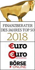 Auszeichnungen Finanzberater des Jahres 2018